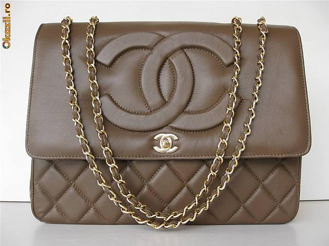 Сумка Chanel capuccino.