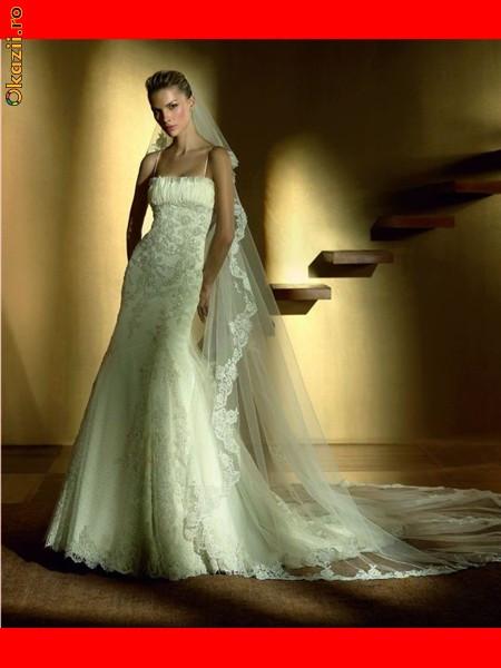 Свадебное платье с кружевой фото.